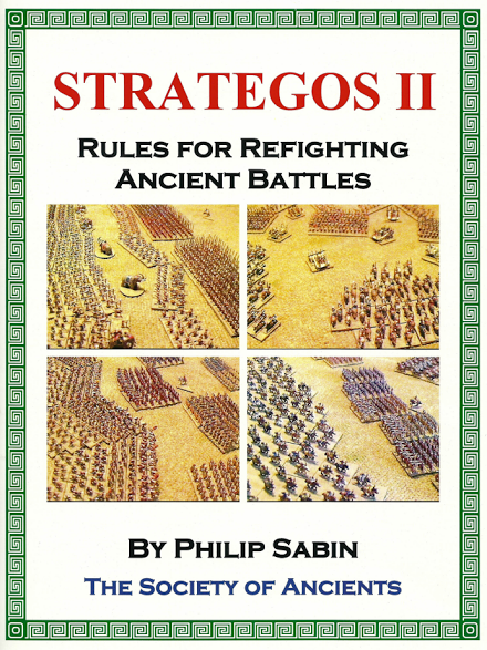 Strategos II rulebook cover image